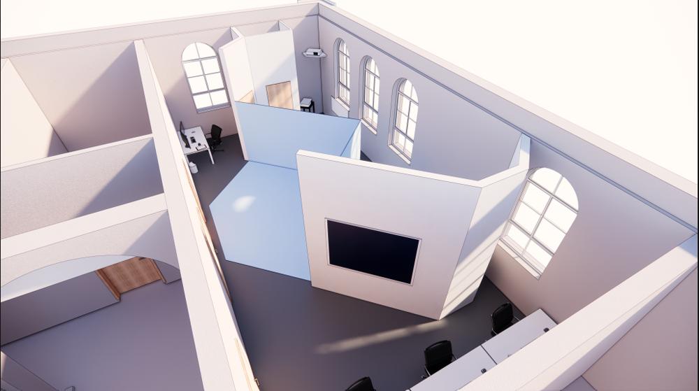 Modell des Labors für digitales Engineering